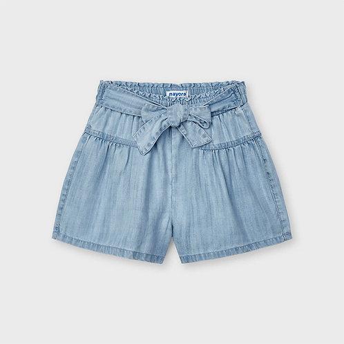 Mayoral ECOFRIENDS flowy denim shorts for girl