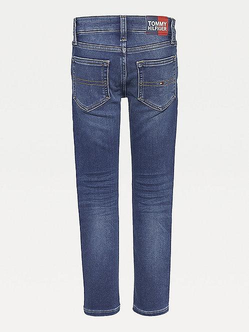 Tommy Hilfiger Boys Scanton Slim Fit Faded Stretch Jeans
