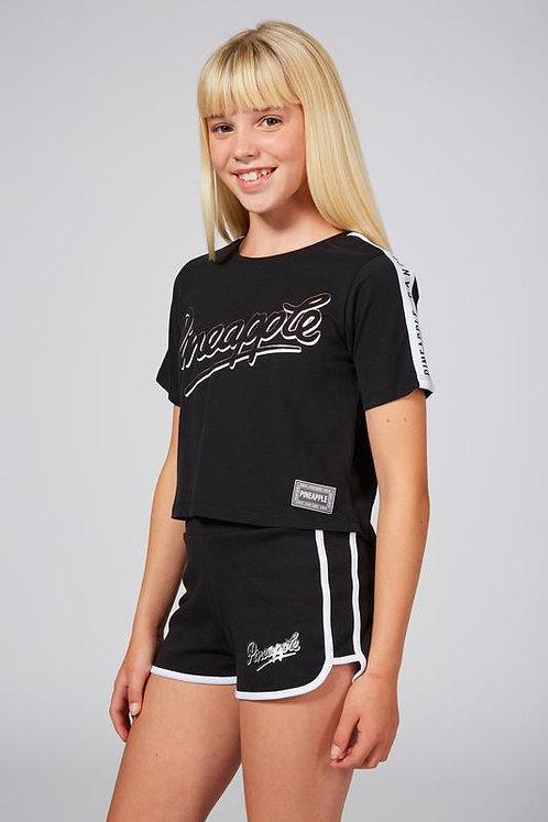 Pineapple Dance Girls Jacquard T-Shirt