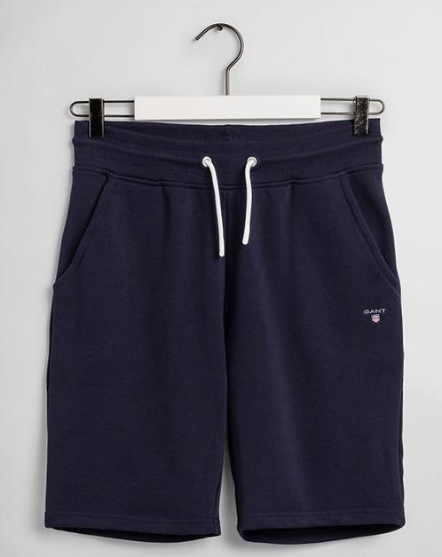GANT Teen Boys Original Sweat Shorts-navy