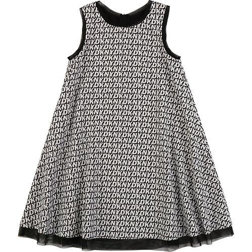 DKNY Flared sleeveless dress