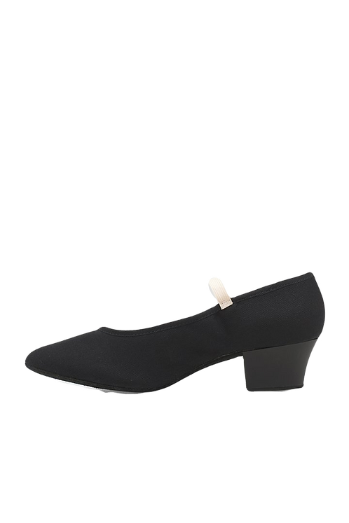 Bloch Tempo S0325 canvas cuban heel character shoe