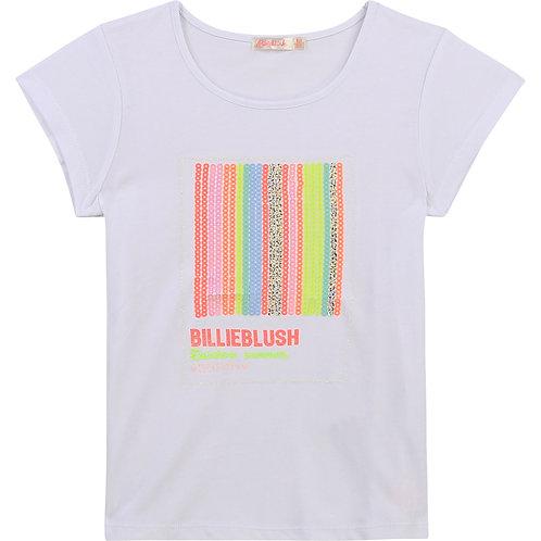 Billieblush Novelty Sequin T-Shirt