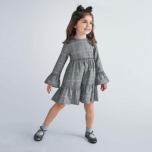 Mayoral Girls Dress in Gray