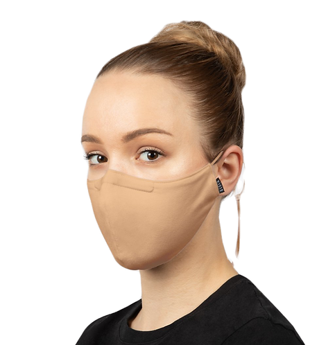 Bloch B-Safe  Adult Lanyard face Mask Sand