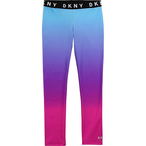 DKNY Stretch Ombre Leggings Pink