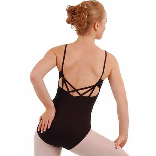 Capezio Multi strap leotard black CC124