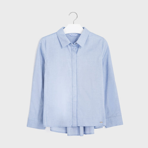 Mayoral Girls Oxford blouse in Lavender