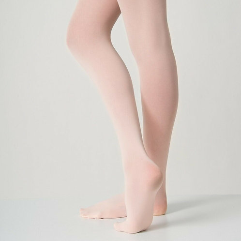 60 Denier Footed Pink Ballet Tights- Children's