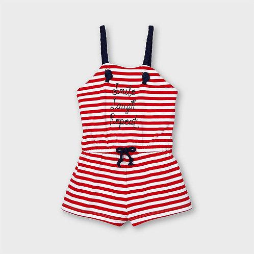 Mayoral Stripes jumpsuit Poppy