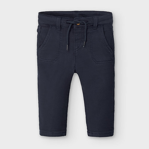 Mayoral Boys Soft regular fit Trousers in blue