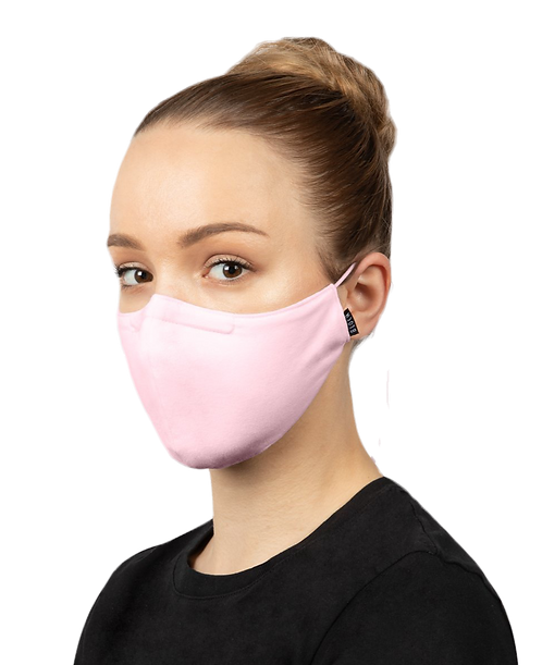 Bloch B-Safe  Adult Lanyard face Mask Pale Pink