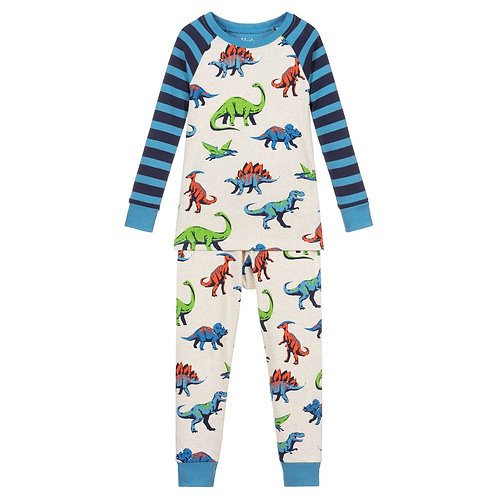 Hatley Friendly Dinos Organic Pyjamas