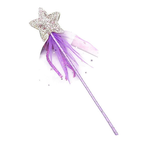 Hula Lula Lilac Sequin & Ribbon Wand