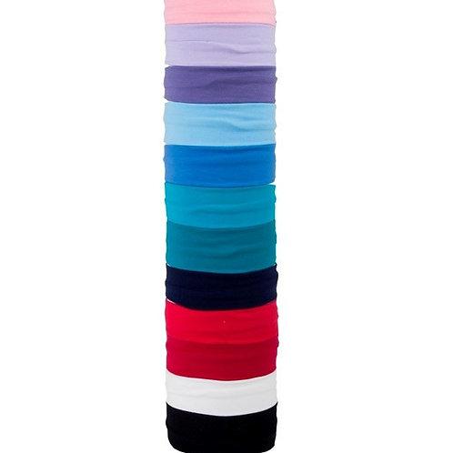 Cotton/lycra ballet headbands