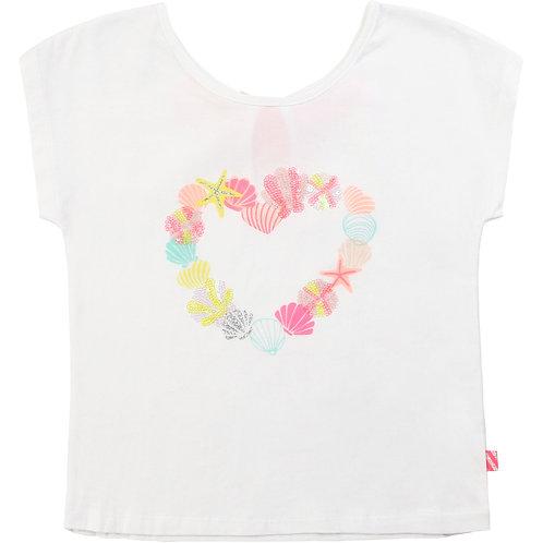 BILLIEBLUSH Cotton t-shirt with sequins
