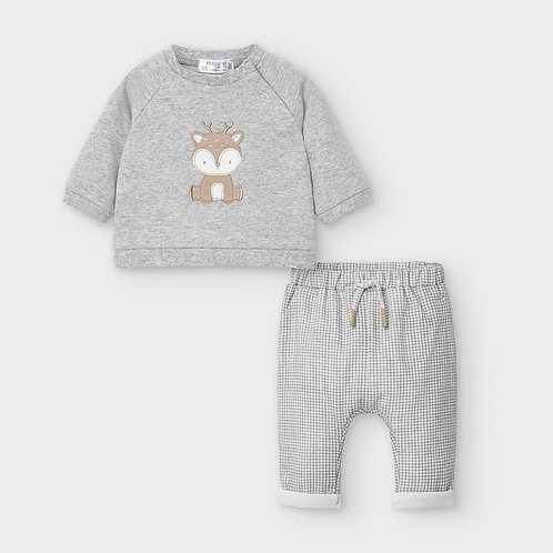 Mayoral Pants and pullover Set in Frames