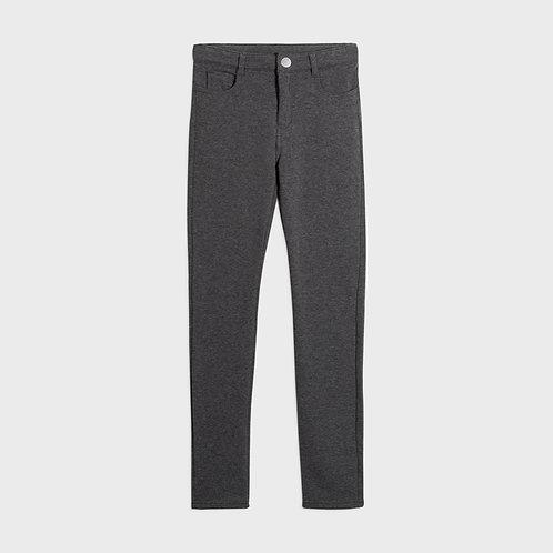 Mayoral Girls Fleece basic trousers in Grey