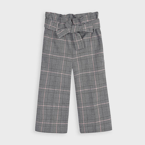 Mayoral Girls Cropped Trousers in Gray