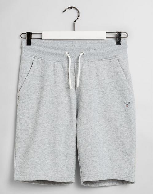 GANT Teen Boys Original Sweat Shorts-Grey