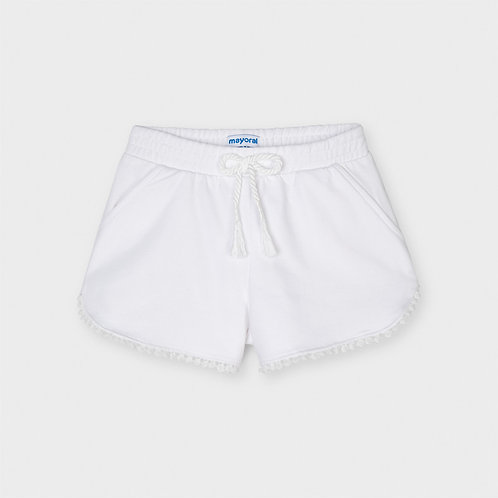 Mayoral Chenille shorts White
