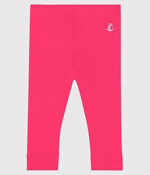 Petit BateauBaby Girls' Cotton Leggings-Pink