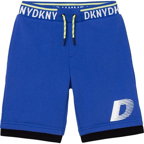 DKNY Boys Bermuda Shorts-Blue
