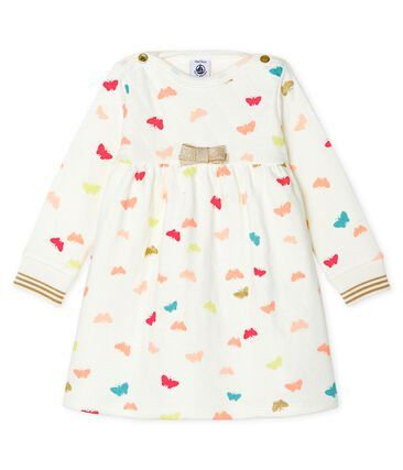 Petit Bateau Baby Girls' Long-Sleeved Print Dress