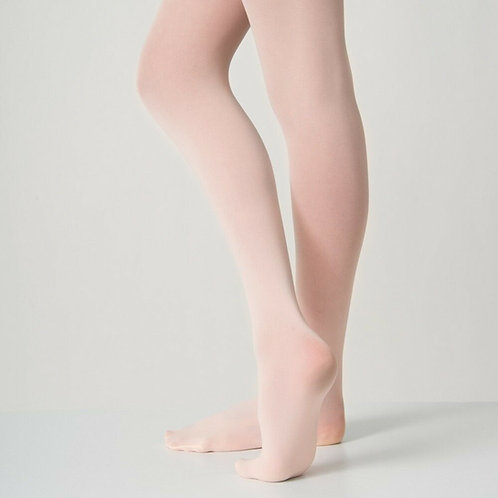 Essential 40 Denier Footed Pink Ballet Tights-Adults