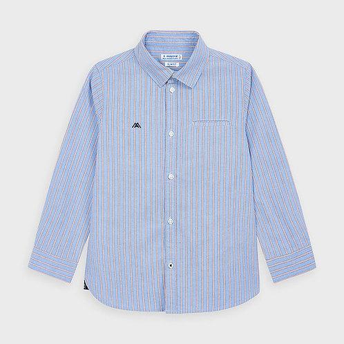 Mayoral Boys L/s stripes shirt in Lightblue