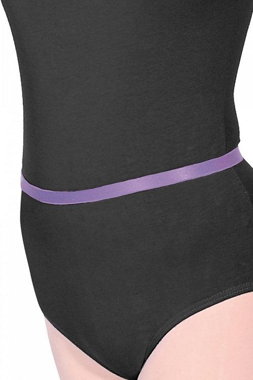 Lisa Maybank Grade 2 Ballet: Elastic Ballet Belt in Lavender