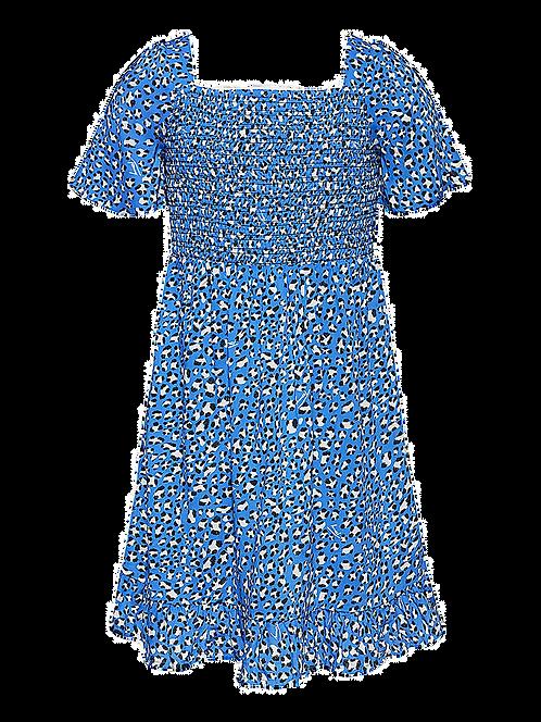 Tommy Hilfiger LEOPARD PRINT SHORT SLEEVE DRESS