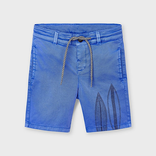 Mayoral printed shorts Sky