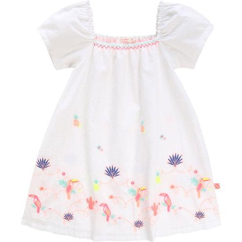 BILLIEBLUSH Embroidered dress White