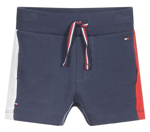 Tommy Hilfiger Boys Navy Blue Cotton Shorts