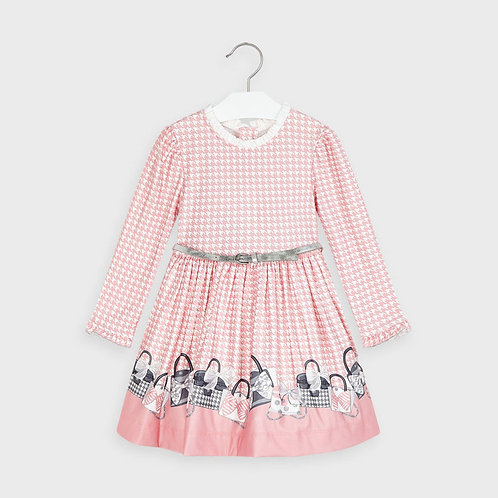 Mayoral Girls Dress in Blush