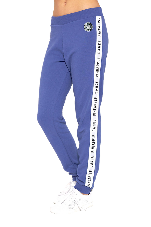 Pineapple Blue Stripe Jacquard Joggers