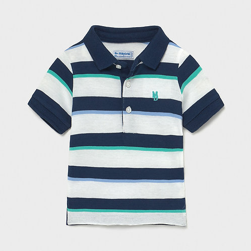 Mayoral Block stripes polo for baby boy