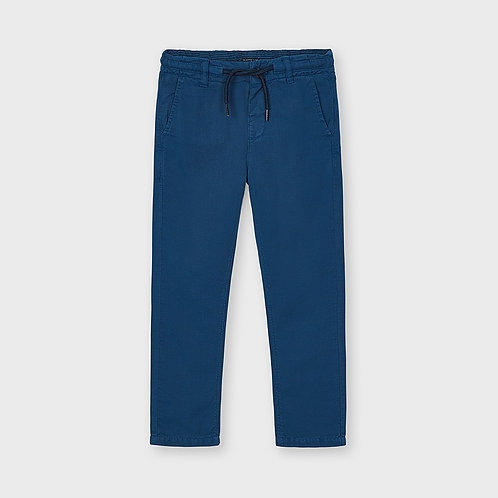 Mayoral linen twill pants Waves