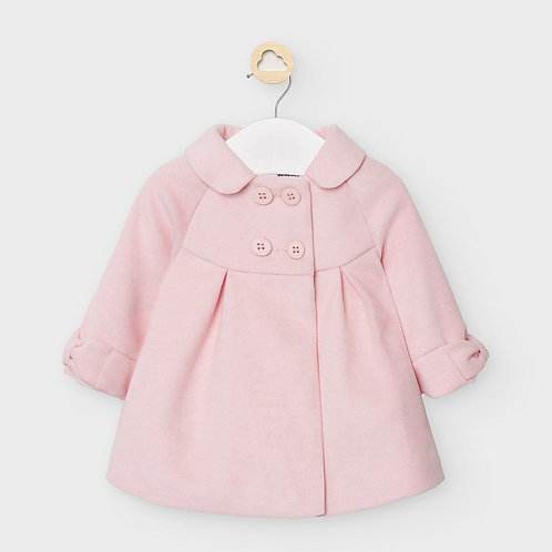 Mayoral Formal coat in Rose