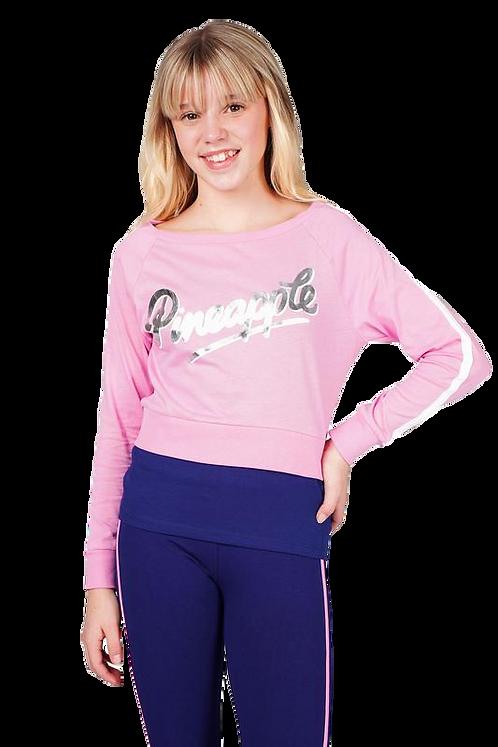 Pineapple Dancewear Girls Long Sleeve Double Layer Set
