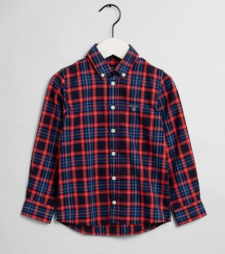 GANT Boys Micro Tartan Shirt