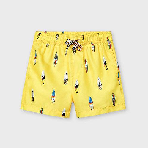 Mayoral bathing suit shorts Banana