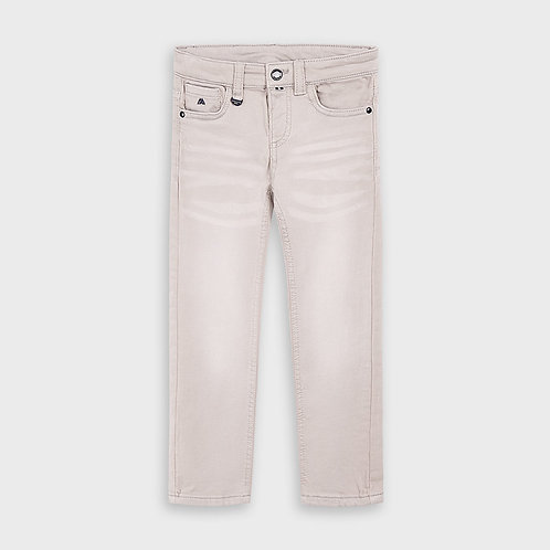 Mayoral Boys 5 pocket soft Trousers in Mist