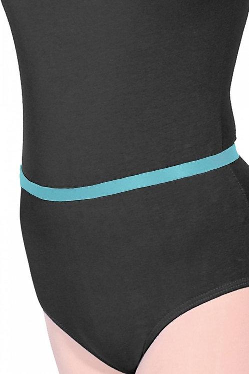 Lisa Maybank Grade 2 Ballet: Elastic Ballet Belt in Marine