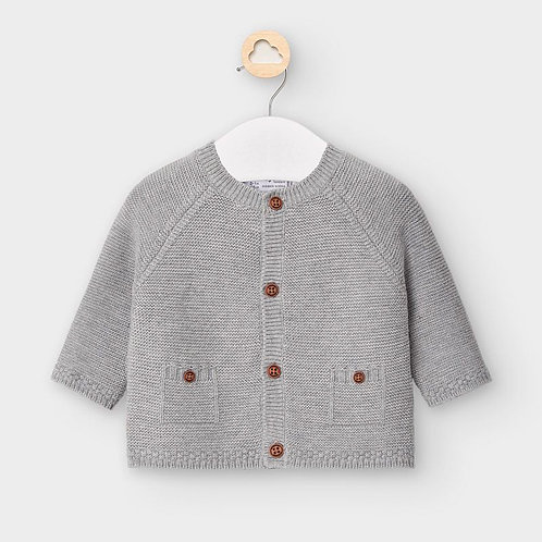 Mayoral Cardigan in Grey for Baby