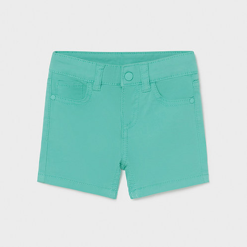 Mayoral Basic 5 pockets twill shorts Aqua