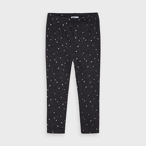 Mayoral Girls leggings with stars in Bright Lea