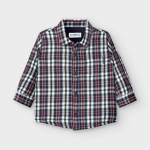Mayoral Boys Lined overshirt in blue
