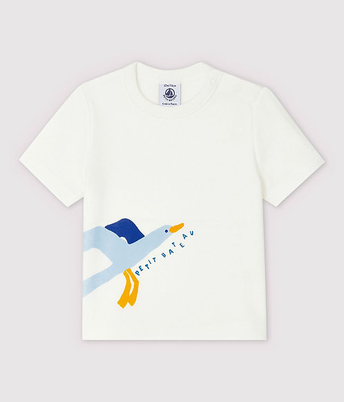 Petit Bateau-Baby Boys' Short-Sleeved Ribbed T-Shir
